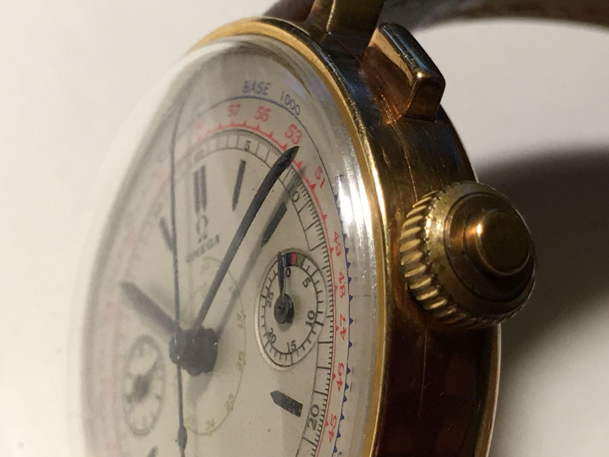 reloj omega militar, omega cronografo monopulsante